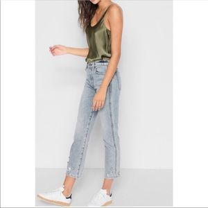 7 for all Mankind Edie Straight Leg Jeans